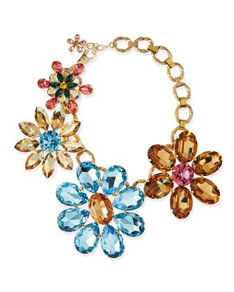 Mega Flower Jewel Necklace