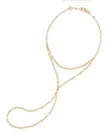 14-Karat Yellow Gold Mystiq Hand Chain