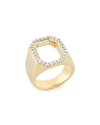 Eyre Ring with White Topaz
