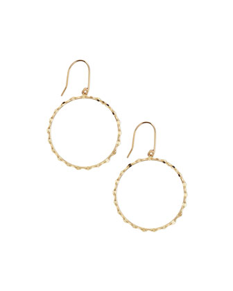 Small 14k Blake Hoop Earrings