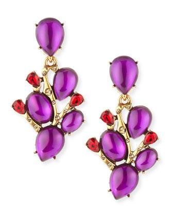 Hyacinth Vine Earrings