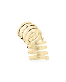 Celine Full-Finger Ring