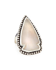 Jasper Arrowhead Ring