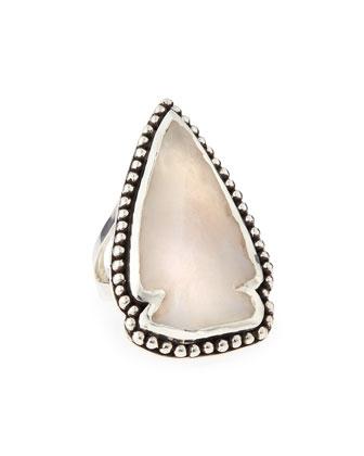 Jasper Arrowhead Ring