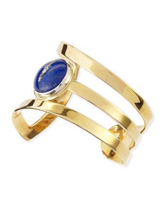 Meridian Blue Lapis Cuff