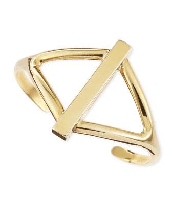 Golden Balance Cuff