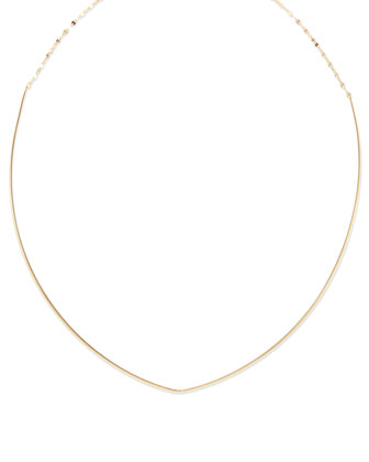 14k Gold Glam Choker Necklace