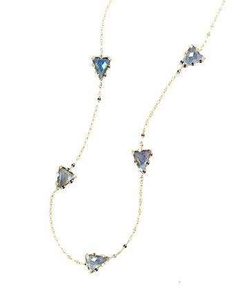 Lumos Labradorite Dash Necklace