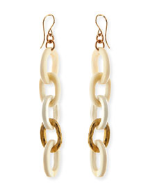 Mini Mara Light Horn Drop Earrings