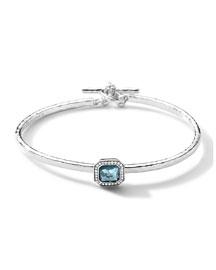 Sterling Silver Stella Togglette Bracelet with Diamonds