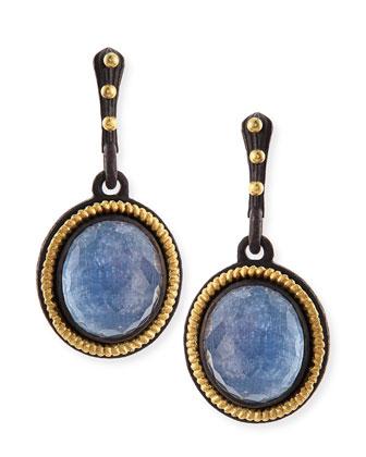 Old World Kyanite Drop Earrings