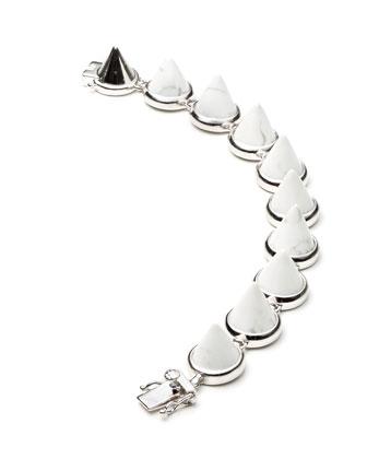 Howlite Cone Bracelet