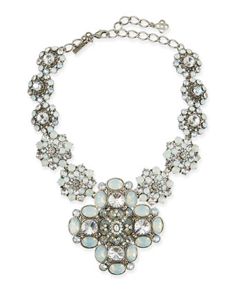 Classic Bold Crystal Necklace