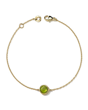 18k Gold Lollipop Bracelet