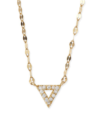 Diamond Spike Pendant Necklace