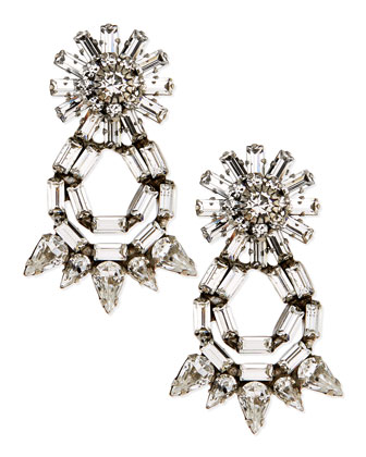Grace Crystal Statement Earrings