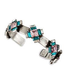 Alexia Crystal-Station Cuff Bracelet