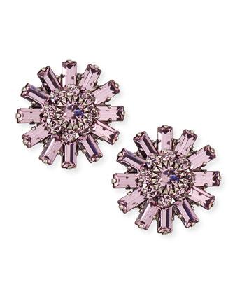 Charlotte Crystal Stud Earrings