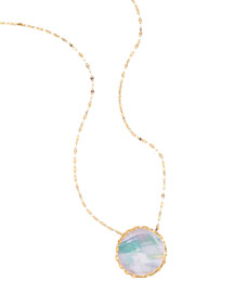 Blanca Mother-of-Pearl Pendant Necklace