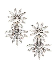 Katie Large Crystal Earrings