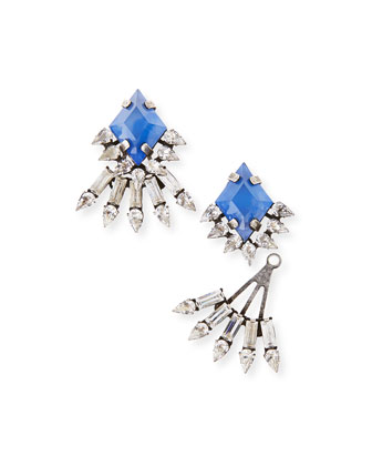 Lauder Crystal Drop Earrings