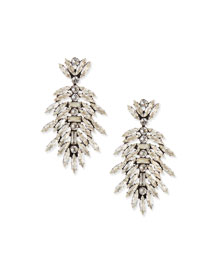 Leigh Crystal Drop Earrings