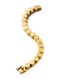 Large Cylinder Tennis Bracelet