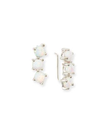 Sylvia Opal Ear Cuffs