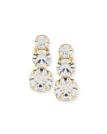 Nova Crystal Clip-On Earrings