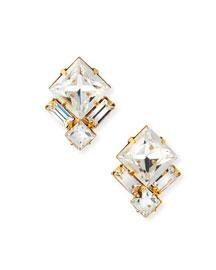 Ava Crystal Stud Earrings