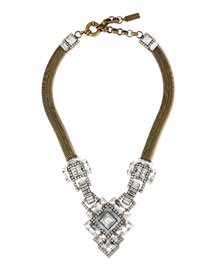 Ryder Chain & Crystal Necklace