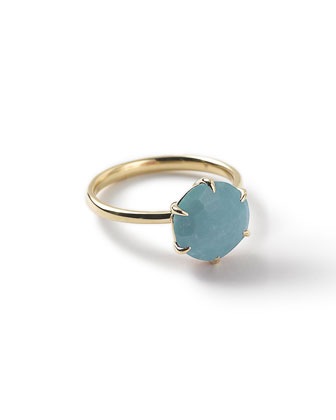18k Rock Candy Turquoise Ring