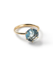 18k Rock Candy London Blue Topaz Ring