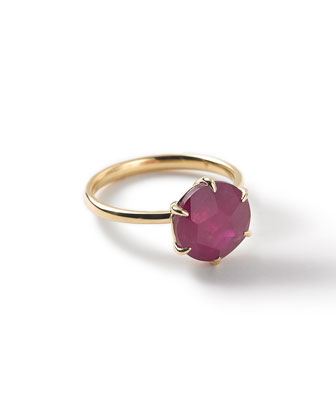 18k Rock Candy Ruby Ring