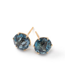 18k Rock Candy Round Stud Earrings