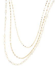 Glam Sienna Multi-Chain Necklace