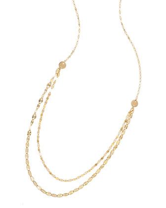 14k Glam Blush Layered Chain Necklace
