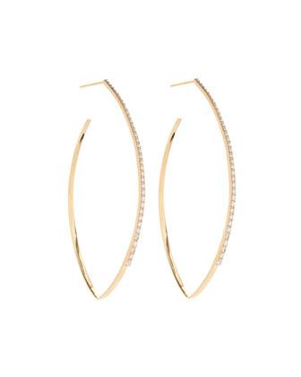 Mirage Blake Diamond Hoop Earrings
