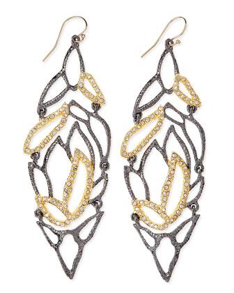 Elements Lacy Leaf Earrings