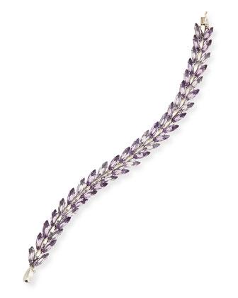 Amethyst Marquise Tennis Bracelet