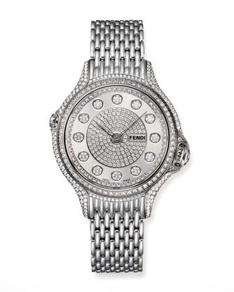 Crazy Carats Precious Pave Diamond Watch
