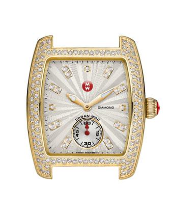 Urban Mini Diamond Watch Head, Gold