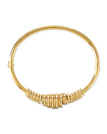Freja Brass Collar Necklace