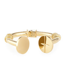 Frankie Brass Cuff Bracelet