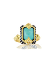 Old World Dulcinea Blue Turquoise Ring