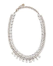 Grant Crystal Bib Necklace