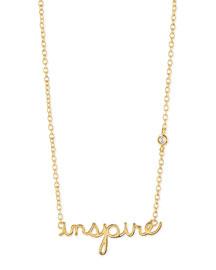 Inspire Bezel Diamond Necklace