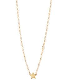Star Bezel Diamond Necklace