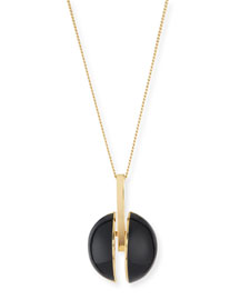 Ellie Long Pendant Necklace, 33.5