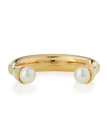 Darcey Pearly Cuff Bracelet